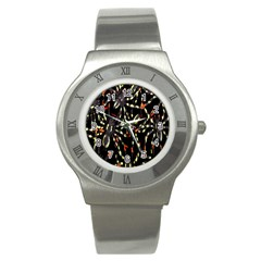 Spiders Colorful Stainless Steel Watch