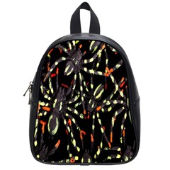 Spiders Colorful School Bags (Small)