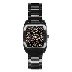 Spiders Colorful Stainless Steel Barrel Watch