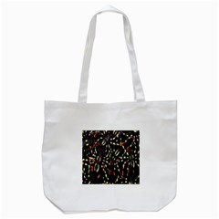 Spiders Colorful Tote Bag (White)