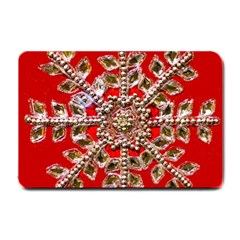 Snowflake Jeweled Small Doormat