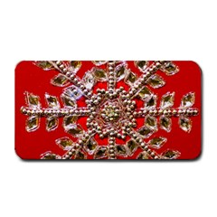 Snowflake Jeweled Medium Bar Mats