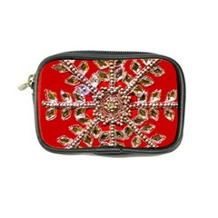 Snowflake Jeweled Coin Purse