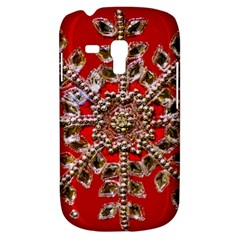 Snowflake Jeweled Galaxy S3 Mini