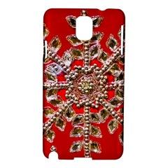 Snowflake Jeweled Samsung Galaxy Note 3 N9005 Hardshell Case
