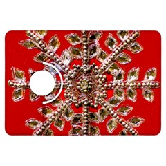 Snowflake Jeweled Kindle Fire Hdx Flip 360 Case