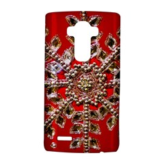 Snowflake Jeweled LG G4 Hardshell Case