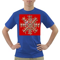 Snowflake Jeweled Dark T Shirt