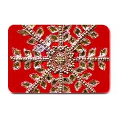 Snowflake Jeweled Plate Mats