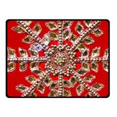 Snowflake Jeweled Fleece Blanket (Small)