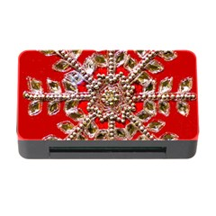 Snowflake Jeweled Memory Card Reader with CF