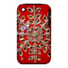 Snowflake Jeweled Iphone 3s/3gs