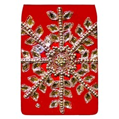 Snowflake Jeweled Flap Covers (l)