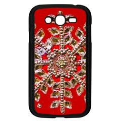Snowflake Jeweled Samsung Galaxy Grand Duos I9082 Case (black)