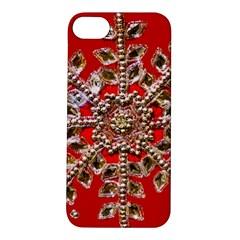 Snowflake Jeweled Apple Iphone 5s/ Se Hardshell Case