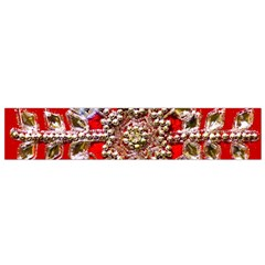Snowflake Jeweled Flano Scarf (small)