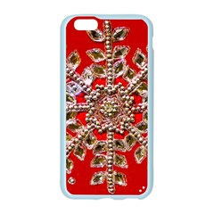 Snowflake Jeweled Apple Seamless iPhone 6/6S Case (Color)