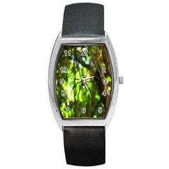 Spider Spiders Web Spider Web Barrel Style Metal Watch