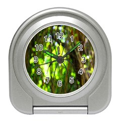 Spider Spiders Web Spider Web Travel Alarm Clocks