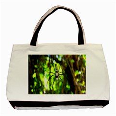 Spider Spiders Web Spider Web Basic Tote Bag (two Sides)