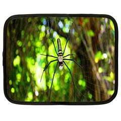Spider Spiders Web Spider Web Netbook Case (large)