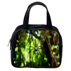 Spider Spiders Web Spider Web Classic Handbags (One Side)