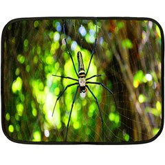Spider Spiders Web Spider Web Fleece Blanket (mini)