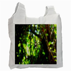 Spider Spiders Web Spider Web Recycle Bag (Two Side)