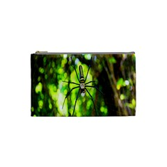 Spider Spiders Web Spider Web Cosmetic Bag (Small)