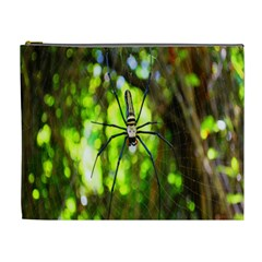 Spider Spiders Web Spider Web Cosmetic Bag (XL)