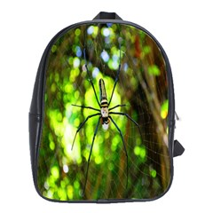 Spider Spiders Web Spider Web School Bags(Large)