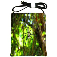 Spider Spiders Web Spider Web Shoulder Sling Bags