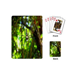 Spider Spiders Web Spider Web Playing Cards (Mini)