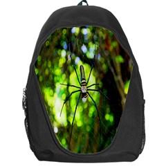 Spider Spiders Web Spider Web Backpack Bag