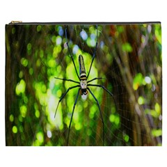 Spider Spiders Web Spider Web Cosmetic Bag (xxxl)