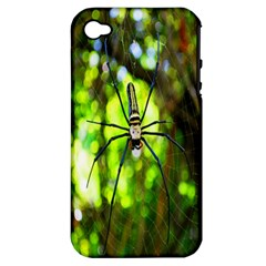 Spider Spiders Web Spider Web Apple Iphone 4/4s Hardshell Case (pc+silicone)