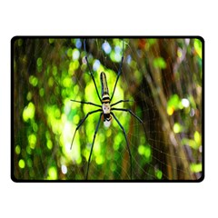 Spider Spiders Web Spider Web Double Sided Fleece Blanket (Small)