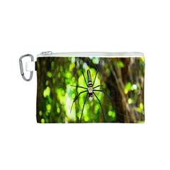 Spider Spiders Web Spider Web Canvas Cosmetic Bag (S)