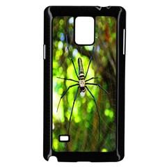 Spider Spiders Web Spider Web Samsung Galaxy Note 4 Case (black)