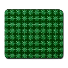 Snowflakes Square Large Mousepads