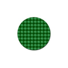 Snowflakes Square Golf Ball Marker (4 pack)