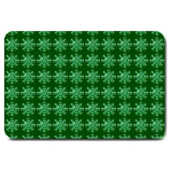 Snowflakes Square Large Doormat