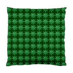 Snowflakes Square Standard Cushion Case (two Sides)