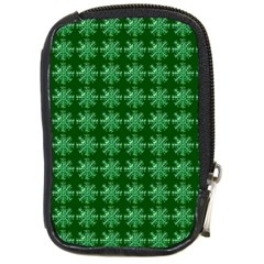 Snowflakes Square Compact Camera Cases