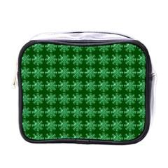 Snowflakes Square Mini Toiletries Bags