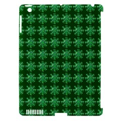 Snowflakes Square Apple iPad 3/4 Hardshell Case (Compatible with Smart Cover)