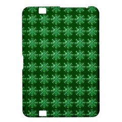 Snowflakes Square Kindle Fire Hd 8 9