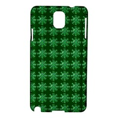 Snowflakes Square Samsung Galaxy Note 3 N9005 Hardshell Case