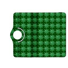 Snowflakes Square Kindle Fire HDX 8.9  Flip 360 Case