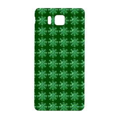 Snowflakes Square Samsung Galaxy Alpha Hardshell Back Case
